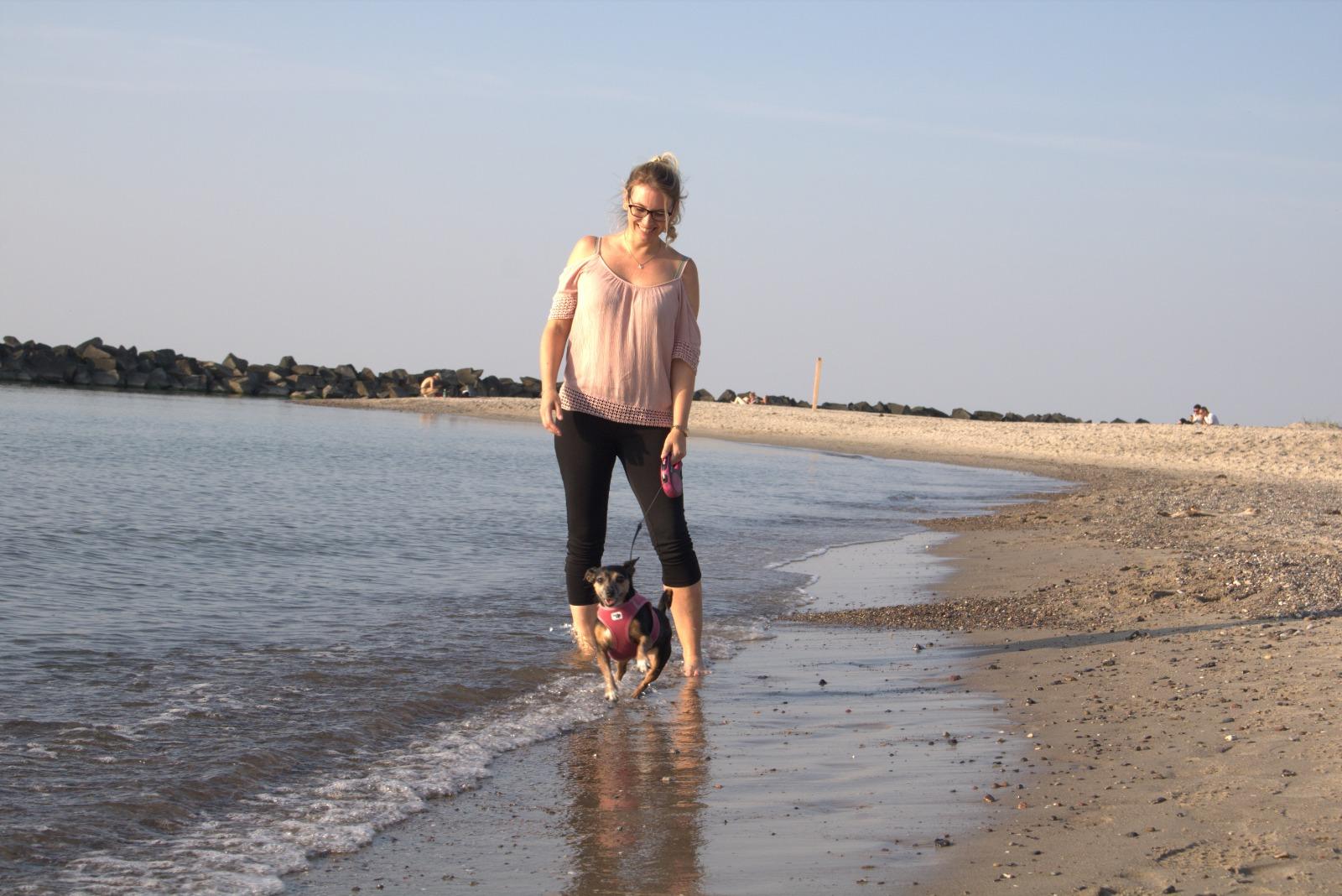 Nicky und Jacky am Ostseestrand